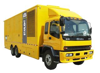 移动汽车柴油发电机组